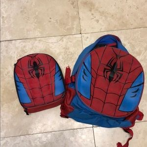 Spider-Man Backpack and lunchbox